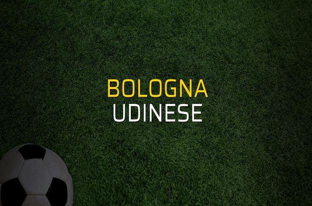 Bologna - Udinese maçı rakamları
