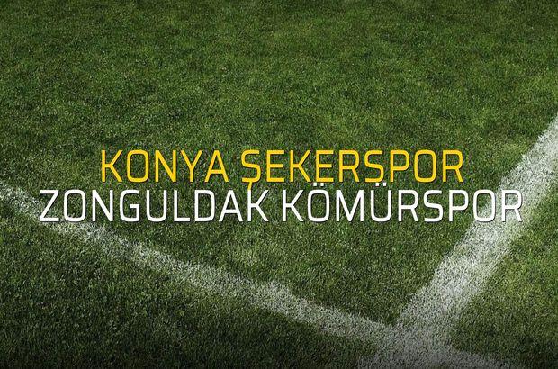 Konya Şekerspor - Zonguldak Kömürspor maçı ne zaman?