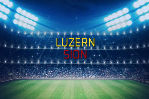 Luzern - Sion düellosu