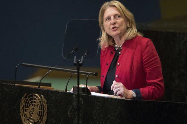 Avusturya  Karin Kneissl BM Genel Kurulu