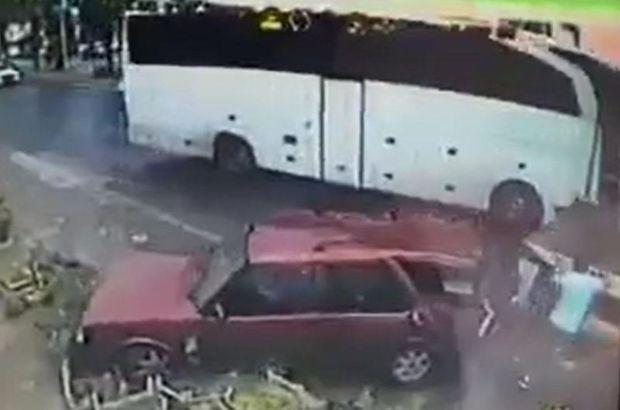 Bodrum'da trafik kazası