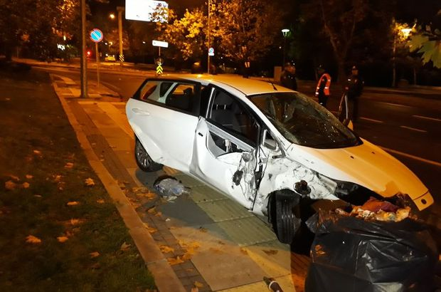 Çankaya trafik kazası