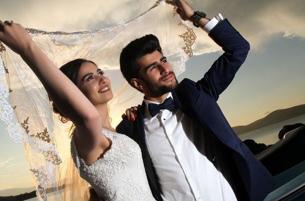 Yeni evlenenlerin çekim mekanı!