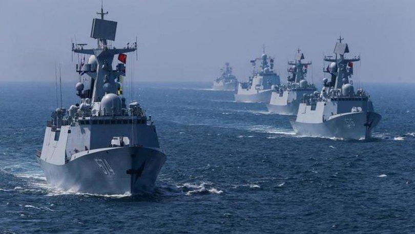 Son dakika ABD-Çin gerilimi alev aldı Gemiler karşı karşıya 13