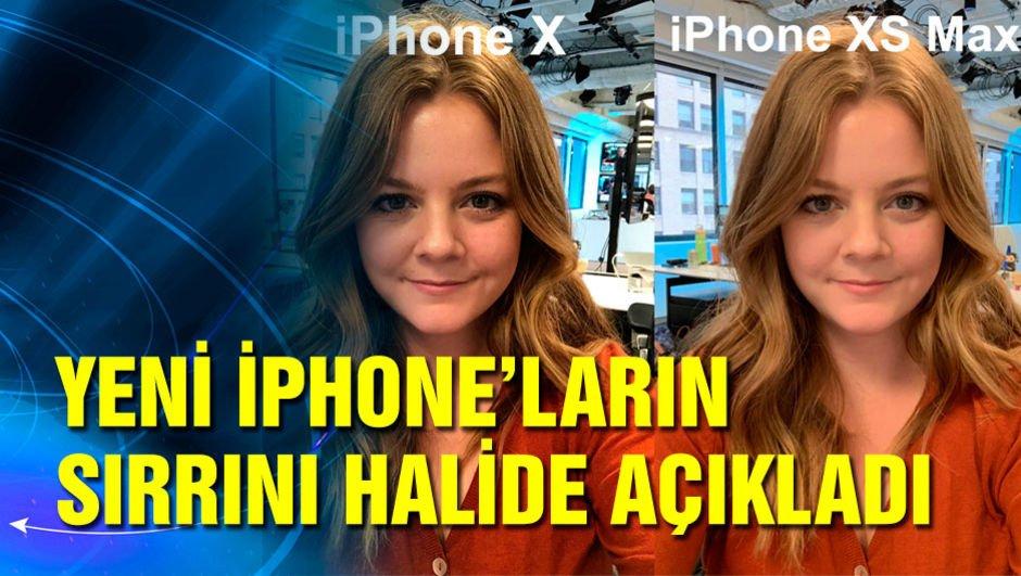 Yeni iPhone'ların sırrını Halide açıkladı
