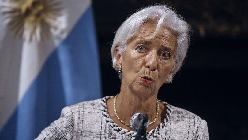 IMF Başkanı Lagarde'dan kürüsel ekonomik büyüme değerlendirmesi