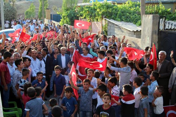 Şırnak'ta PKK lanetlendi