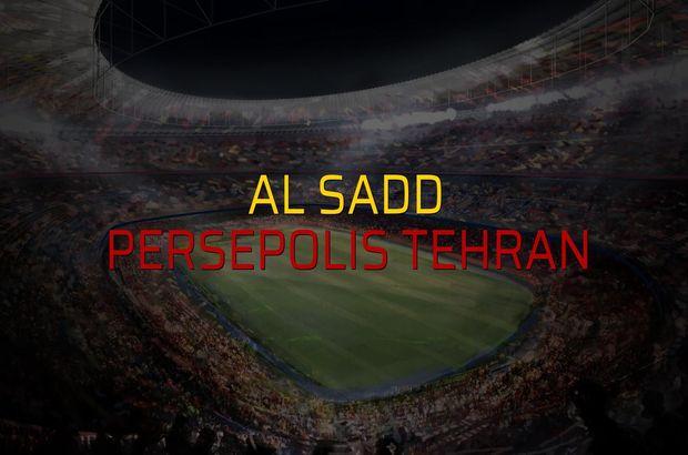 Al Sadd - Persepolis Tehran maç önü