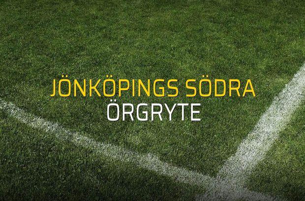 Jönköpings Södra - Örgryte rakamlar