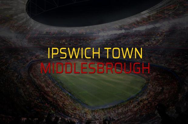 Ipswich Town - Middlesbrough rakamlar