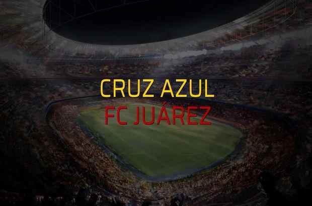 Cruz Azul - FC Juárez sahaya çıkıyor