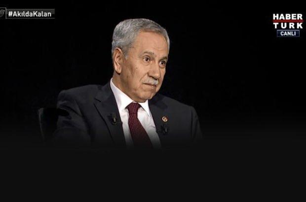 Arınç'tan 'Aktif siyasete geri dönecek mi? Sorusuna yanıt
