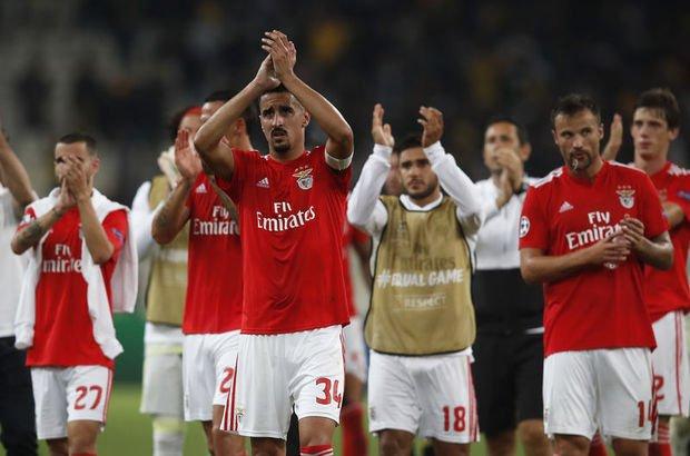 AEK Atina Benfica UEFA Şampiyonlar Ligi
