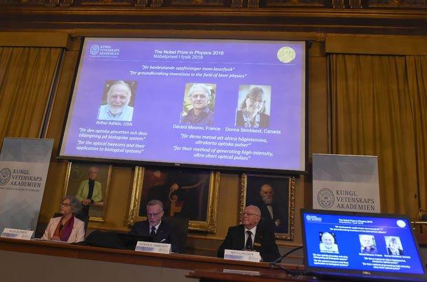 Son dakika: 2018 Nobel Kimya Ödülü