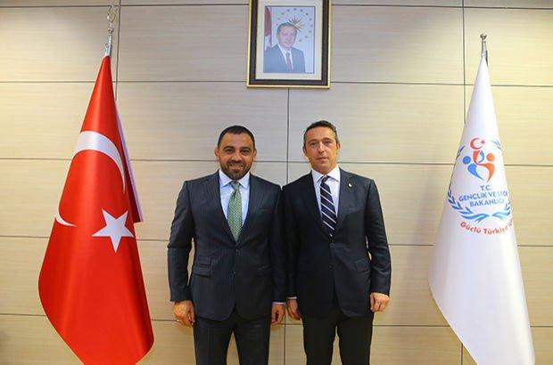 Ali Koç Hamza Yerlikaya  Fenerbahçe