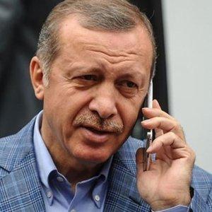 ERDOĞAN, IRAK CUMHURBAŞKANI İLE TELEFONDA GÖRÜŞTÜ
