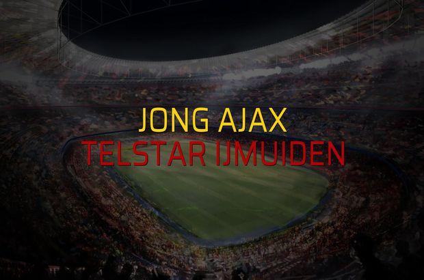 Jong Ajax - Telstar Ijmuiden maçı rakamları