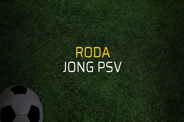 Roda - Jong PSV maçı ne zaman?