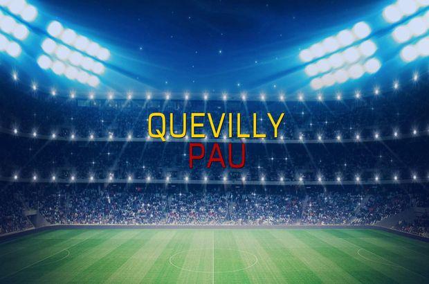 Quevilly - Pau düellosu