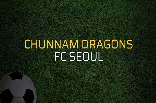 Chunnam Dragons - FC Seoul sahaya çıkıyor