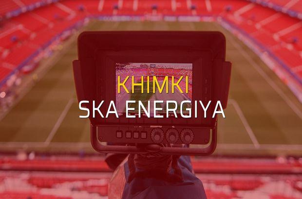 Khimki - SKA Energiya maçı heyecanı