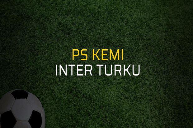 PS Kemi - Inter Turku maçı heyecanı
