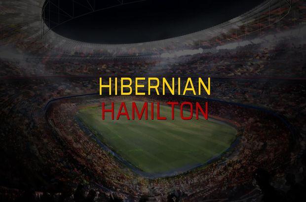 Hibernian - Hamilton rakamlar
