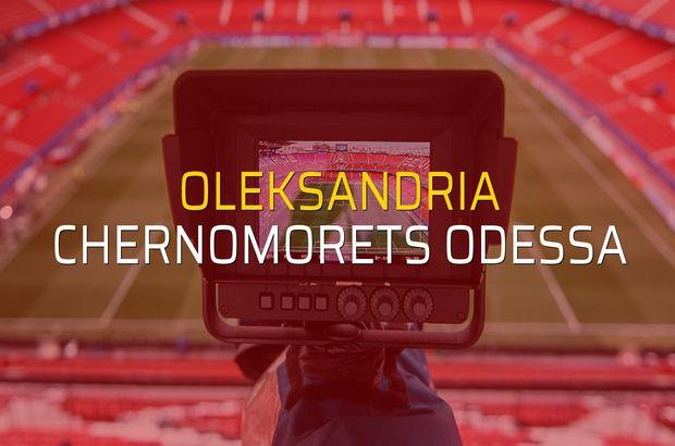 Oleksandria - Chernomorets Odessa maçı heyecanı