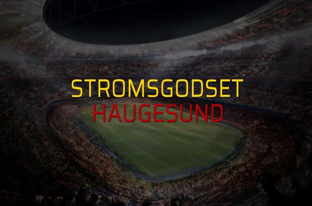 Stromsgodset - Haugesund maçı öncesi rakamlar