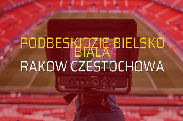 Podbeskidzie Bielsko Biala - Rakow Czestochowa karşılaşma önü