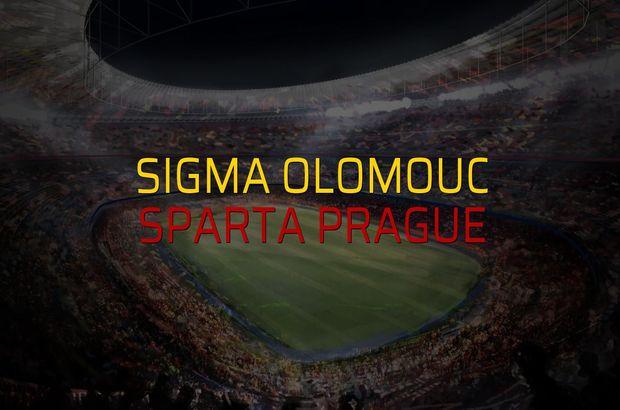 Sigma Olomouc - Sparta Prague maçı rakamları