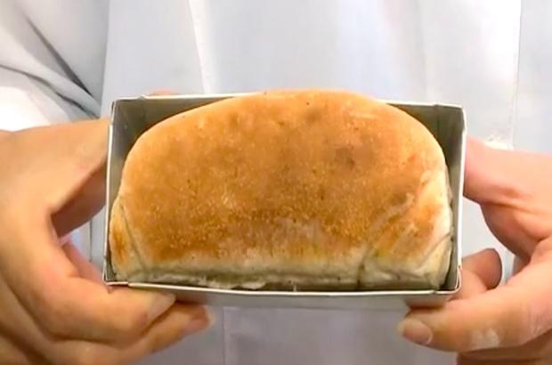 Kırmızı etten fazla protein içeren hamam böcekli ekmek