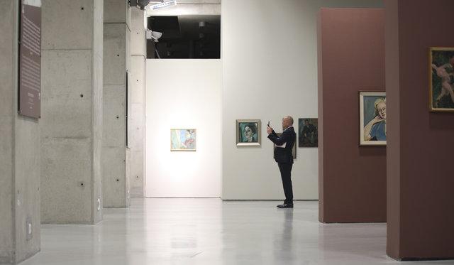 Ünlü ressamların torunu Anadolu kültürünü sergilerle yaşatıyor