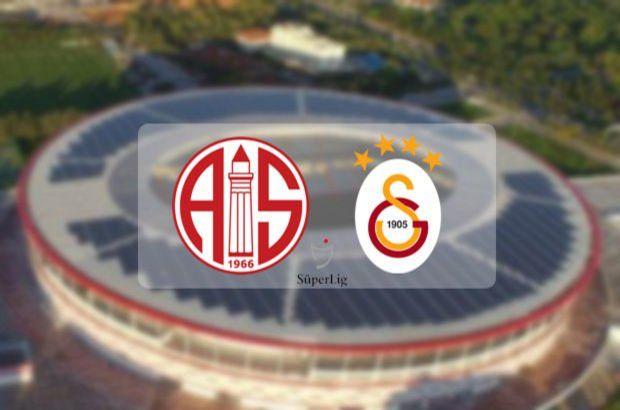 Antalyaspor Galatasaray maçı ne zaman saat kaçta hangi kanalda?