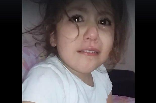 Batman'daki şehitler için ağlayan küçük kız