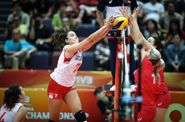 A Milli Kadın Voleybol Takımı  Rusya