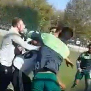 U21'DE BEŞİKTAŞLI FUTBOLCULARA SALDIRI!