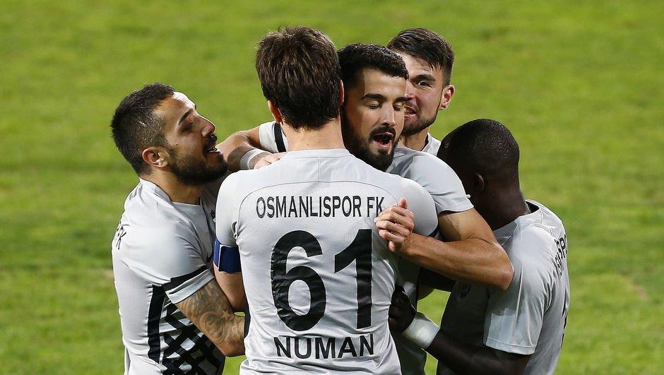 Osmanlıspor tek golle