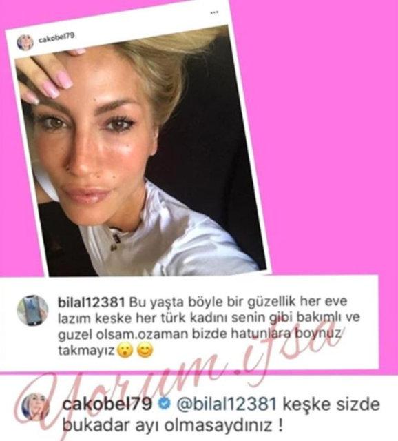 Çağla Şıkel, 'Türk kadını bakımlı olsa aldatmayız' diyen erkek takipçisine ateş püskürdü - Magazin haberleri