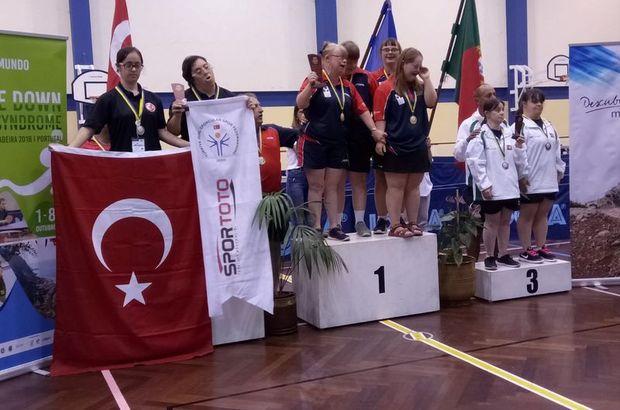 Down sendromlu özel sporcular Dünya Şampiyonası