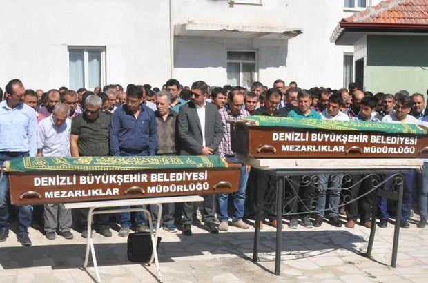 Kazada ölen kardeşlerin cenazesi toprağa verildi