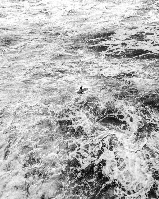 Fotoğrafçı Jason M. Peterson çektiği siyah beyaz fotoğraflarla harikalar yaratıyor