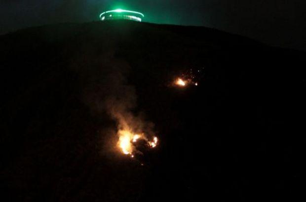 Erzurum yangın