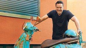 Beyazıt Öztürk'e özel motosiklet - Magazin haberleri