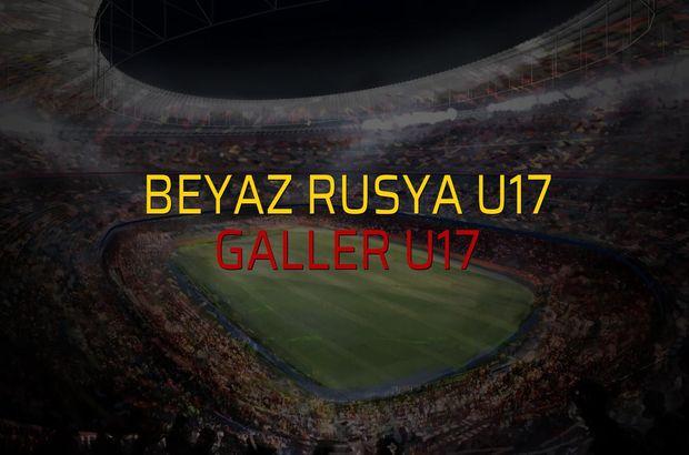 Beyaz Rusya U17 - Galler U17 maçı heyecanı