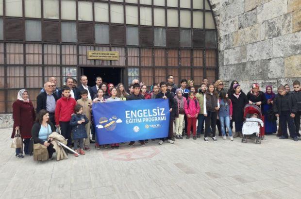 MEB'den engelli öğrencilere kültür gezisi