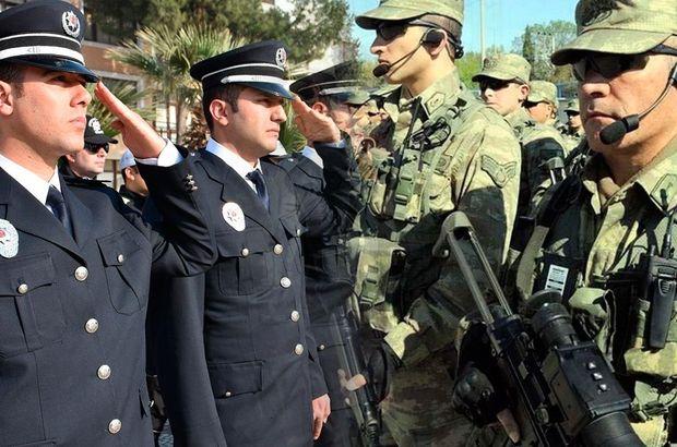 polis asker korucu