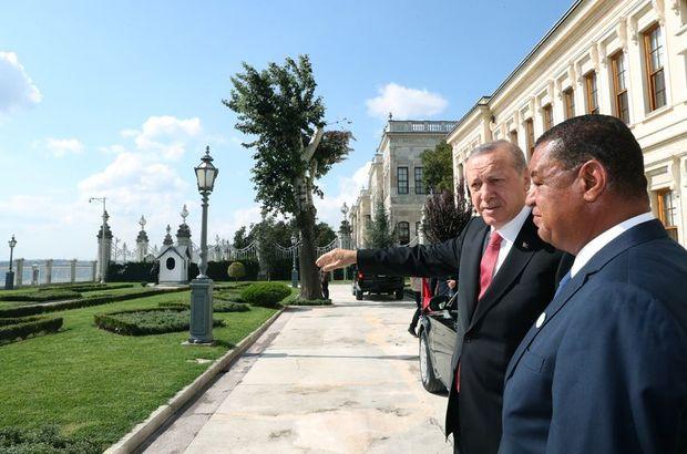 Cumhurbaşkanı Erdoğan, Etiyopyalı mevkidaşı Mulatu Teshome Wirtu