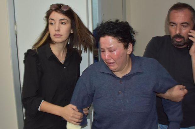 Adli Tıp'ta gözyaşlarına boğuldu