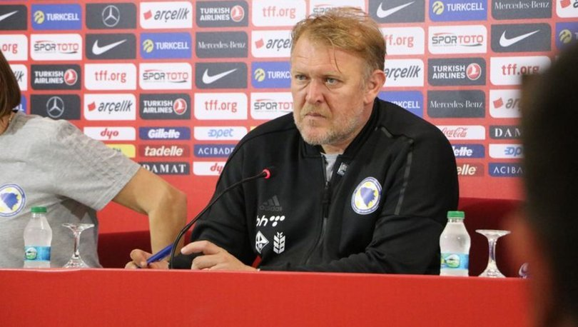 Robert Prosinecki Bosna Hersek Edin Visca